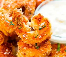 Coconut Batter Shrimp