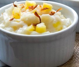Coconut-Pineapple Sweet Rice