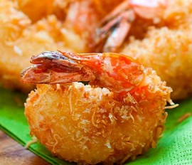 Coconut Shrimp De Lopez