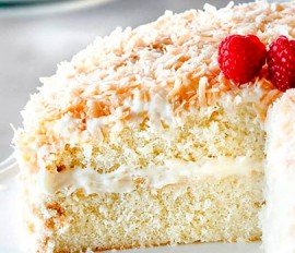 Easy Coconut Cream Cake