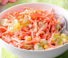 Hawaiian Coconut Carrot Salad
